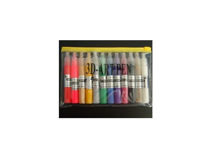 Zdobičky na nehty, 12 barev
