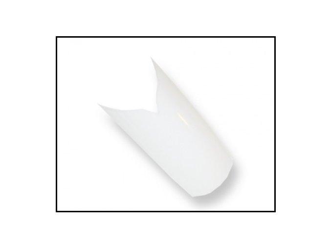 Ozdobné bílé tipy 100 ks