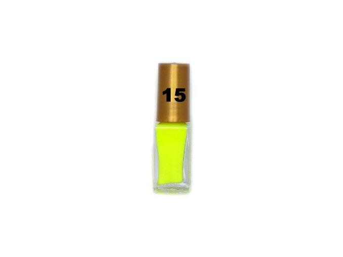 Lemax zdobící lak 6ml, neon žlutý