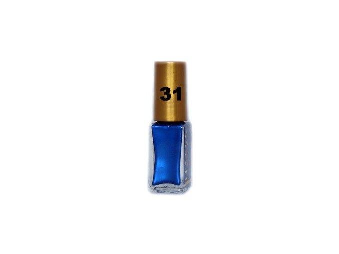 Lemax zdobící lak 6ml, tmavě modrý