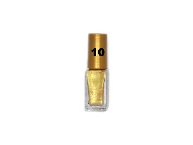 Lemax zdobící lak 6ml, zlatý