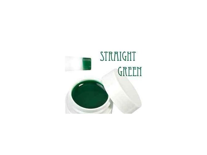 Barevný UV gel 5 ml zelený