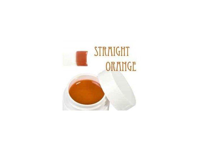 Barevný UV gel 5 ml oranžový