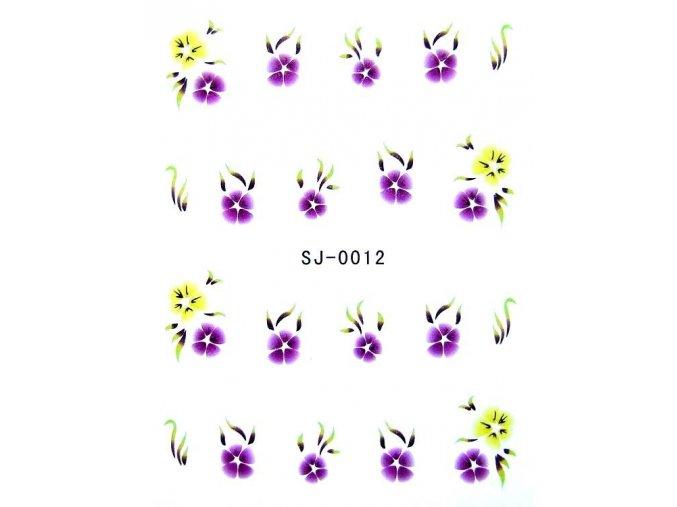 Vodolepky, květy 0012