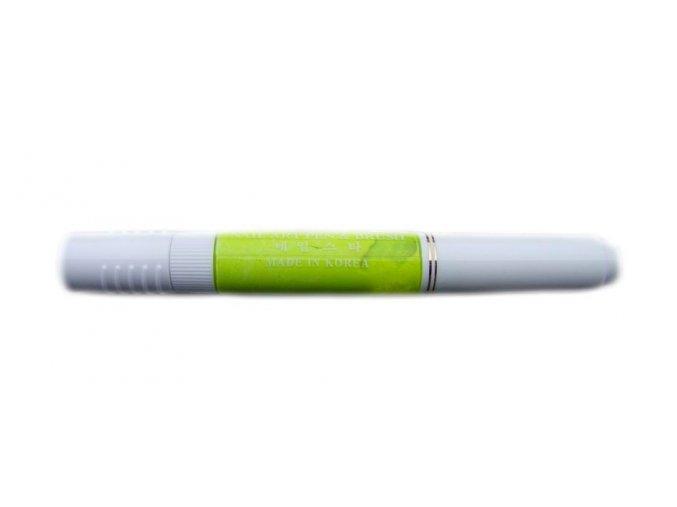 2v1 zdobící pero na nehty, neon žlutá