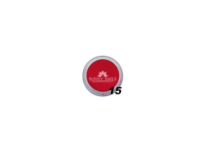 Barevný akryl, červený