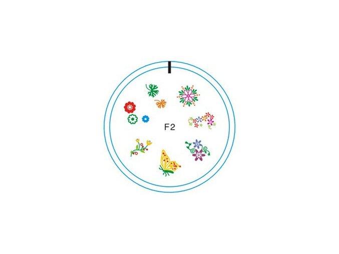 Silikonové razítko F2