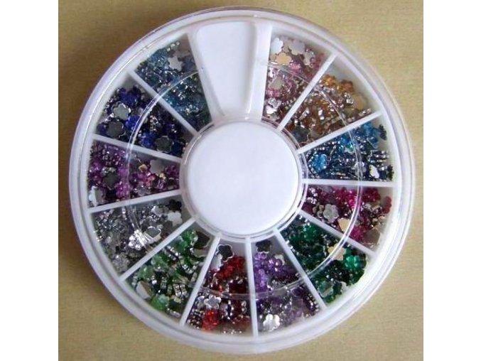 Zdobení kytičky 12 barev