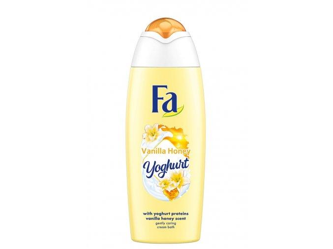 fa com cream bath yoghurt vanilla honey