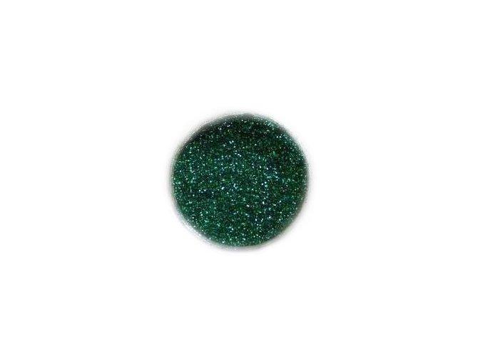 Třpytky na nehty, tmavě zelené