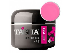 Barevný gel Neon Light Pink 5g Black Line