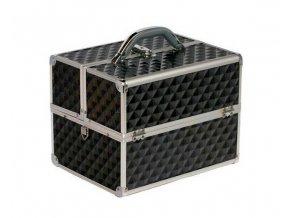 Kosmetický kufr diamond - černý