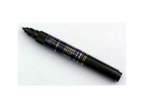 2v1 zdobící pero na nehty, tmavě modré