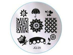 Destička na razítka JQ29