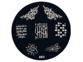 Destička na razítka E83