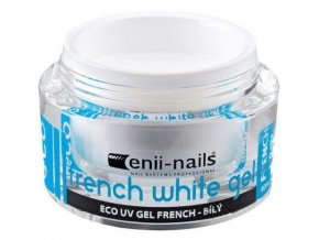 UV gel French bílý 5ml
