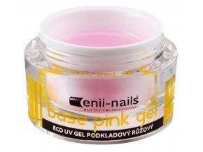 ECO 1 UV gel podkladový růžový 5ml