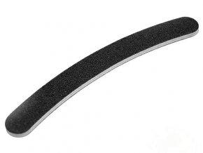 Pilník na nehty, banán 180/240 černý