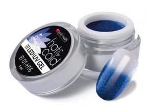 Hot & cold glitter LED/UV gel 5ml č.16