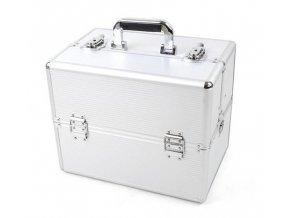Kosmetický kufr - stříbrný