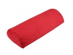 Opěrka rukou froté - červeno-růžová