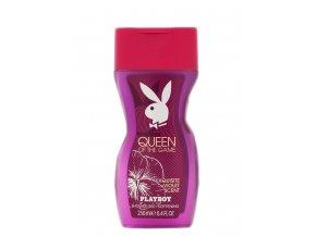 Dárková sada Playboy Queen of The Game 75 ml parfémovaný Deo