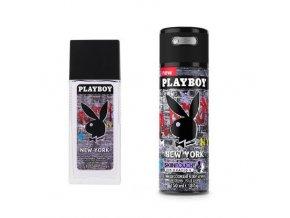 Dárková sada Playboy New York 75 ml parf. Deo + Body Deo