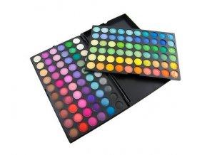 Paleta očních stínů - 120 barev