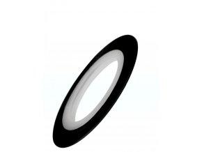 Samolepicí zdobící páska, černá
