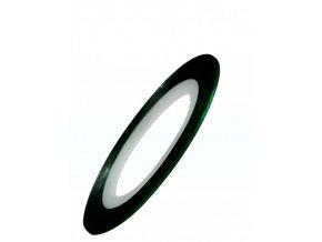 Samolepicí zdobící páska, zelená
