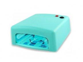 UV lampa na gelové nehty 36W - mintová