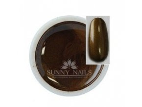 Metalický bronz UV gel Sunny nails 5 ml