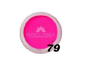 Barevný akryl, bright pink