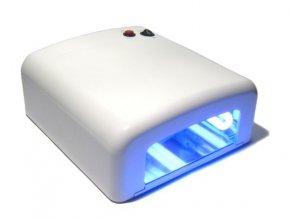 Bílá UV lampa - hranatý tunel