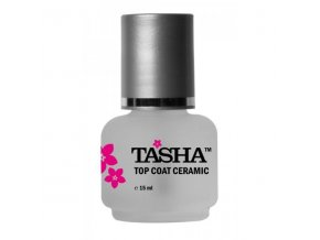 Tasha Top Coat Ceramic 15ml - vrchní lak