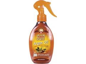Opalovací mléko s arganovým olejem OF 30