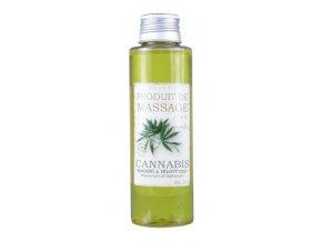 Masážní a tělový olej - Cannabis 100ml