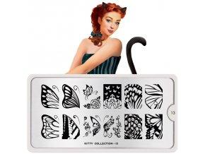kitty nail art design 13