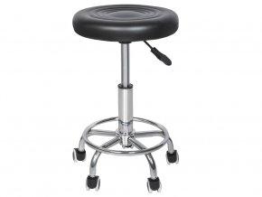 Kosmetický taburet - kolečková židle