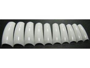 Tipy bílé, rovné 20 ks