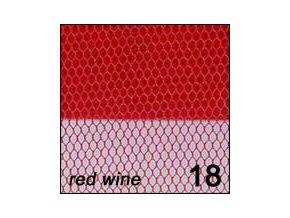 Síťka - zdobení nehtů, červená