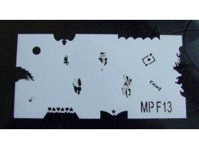 Šablony na nehty MPF13
