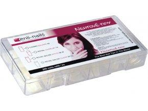 Enii nails Cosmo square 200 ks - box