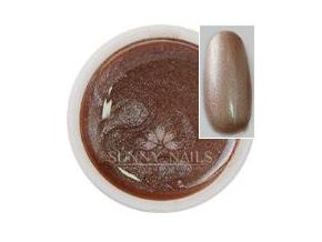 Metalický UV gel Sunny nails 5 ml, cappuccino