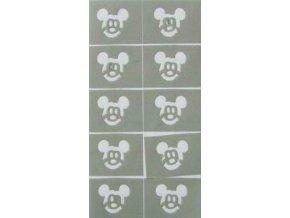 Zdobící šablona - mickey mouse