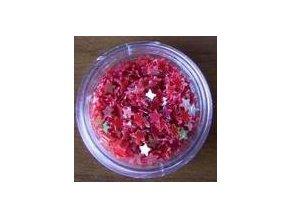 Zdobení nehtů hvězdy (červená), 500 ks