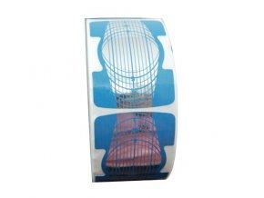 Šablona na acryl i gel 100 ks - modrá
