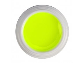 Barevný UV gel NEON - žlutý, 5ml