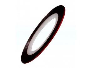 Samolepicí zdobící páska, červená