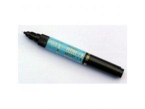 2v1 zdobící pero na nehty, světle modré